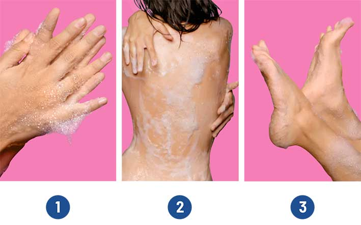 Mobile How To Use Body Wash