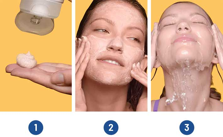 Mobile How To Use Face Scrub